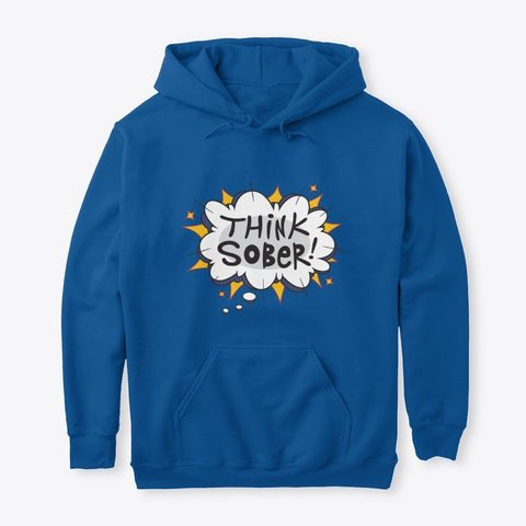 Think Sober! Whatever you're facing in life you can't go wrong thinking sober! Available in six colors. Link in bio to get these hoodies! #sober #soberlife #soberaf #liveyourbestlife #gratitude #affirmationsolutions https://t.co/oQHFiIVIXM