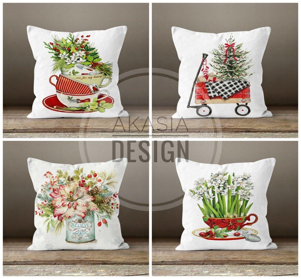 Latest addition to my #etsyshop :Christmas Pillow Covers#happyholiday #xmasdecorideas #christmastree #xmasgiftideas #pillowcovers #merrychristmas #etsy #wintertrend #xmas #xmashomedecor #redberry #xmasbell #floral #happynewyear #outdoorpillows #christmasdecor @Etsy https://t.co/wqLDsGmF6m