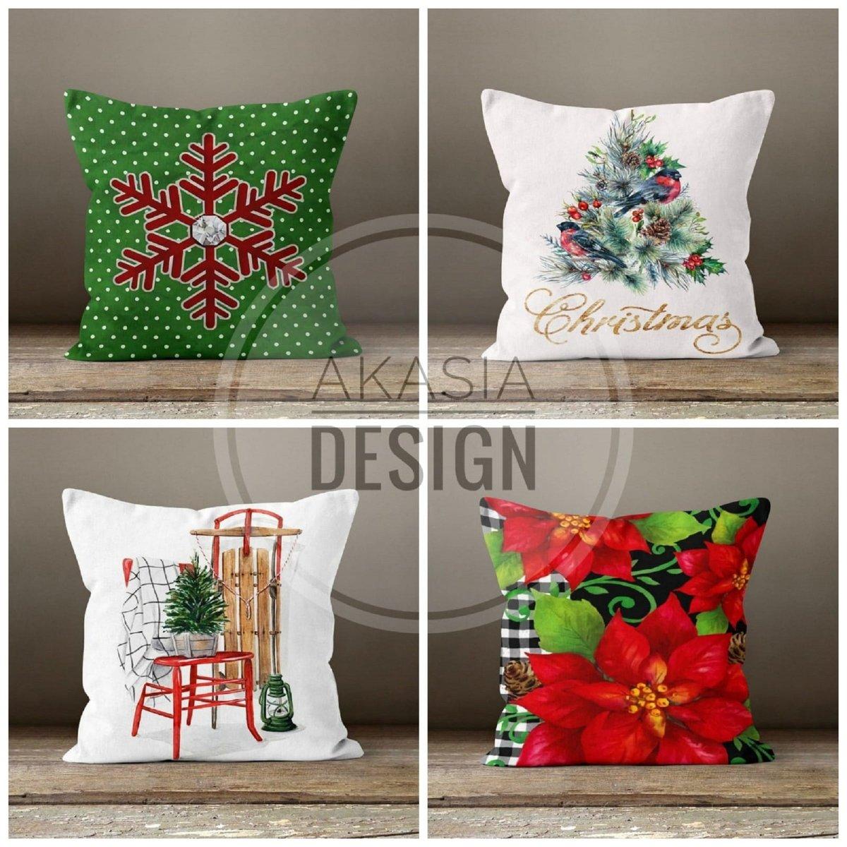 Latest addition to my #etsyshop :Christmas Pillow Covers#happyholiday #xmasdecorideas #christmastree #xmasgiftideas #pillowcovers #redberries #merrychristmas #etsy #wintertrend #xmashomedecor #floral #junglebells #happynewyear #snowflake #christmasdecor @Etsy https://t.co/FApt6nxyWE