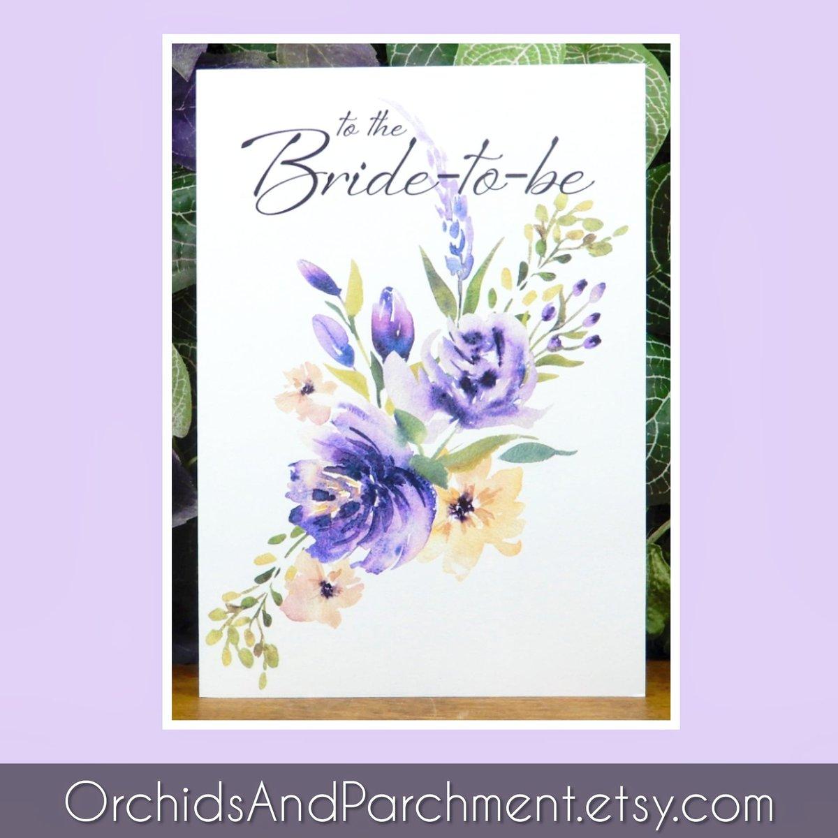 Printable Bride-to-be Card ☆ Link in my bio ☆ #orchidsandparchment #etsy #printablecard #digitaldownload #greetingcard #greetingcards #sendmail #snailmail #cardsdomore #bridetobe #bridalshower #bridalgift #bride #floral #floralcard #flowers https://t.co/o95rBFua6k