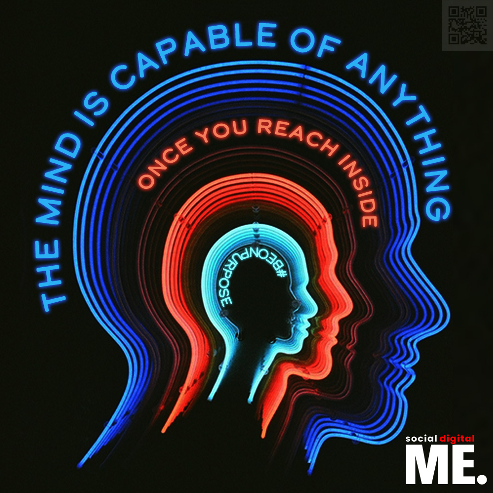 The mind is capable of anything, once you reach inside.  #beonpurpose #letsbegreat #mind #neon #success #positivity #positivevibes #grow #growth #mindset #perspective #inspirationalquotes #motivationalquotes #goodvibes #wisdom #socialdigitalme #social #digital #me https://t.co/koaQEuwf7p