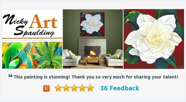 #Wallart #Homedecor #Canvas #Contemporary #Tropical #Floral #Green #Stilllife #Plantlife Title: GOLDEN GARDENIA  https://t.co/QVHTXhQuhV (Tweeted via https://t.co/ILJM3AviKV) https://t.co/7xwzLSa9Vy