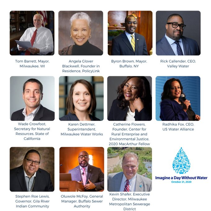 On 10/21, attend our National Forum, feat. certified (MacArthur) genius @CathFlowers, Mayor @Barrett4MKE, @agb4equity, @MayorByronBrown, @BuffaloSewer, @RickCallender, Secretary @WadeCrowfoot, @karendett, @MMSD_MKE, @stephenroelewis & our own @radhikafox. https://t.co/hxk86nQRq4 https://t.co/atMY7VSRJC