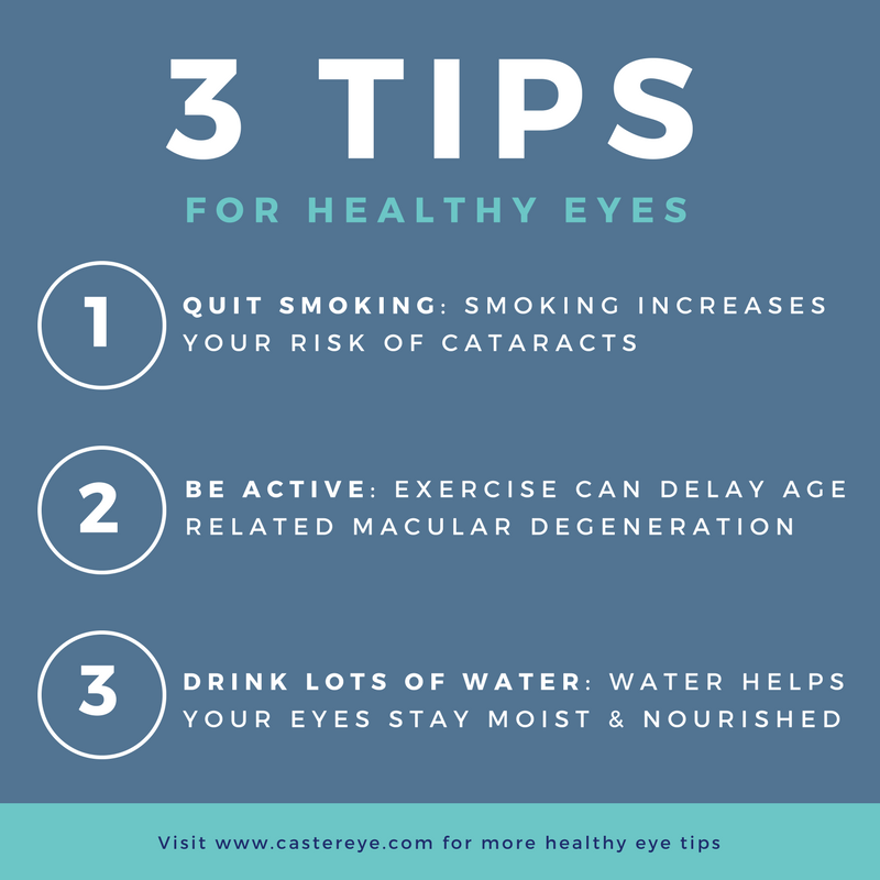 Making healthy decisions like staying active and quitting bad habits not only keeps your body in top shape but your eyes as well! To see more tips for healthy eyes visit https://t.co/jGsIqVgpyc  #LaserVisionCorrection #Eye #VisionCare #EyeCare #NoGlasses #2020Vision #LosAngeles https://t.co/IF07Idx3Sw