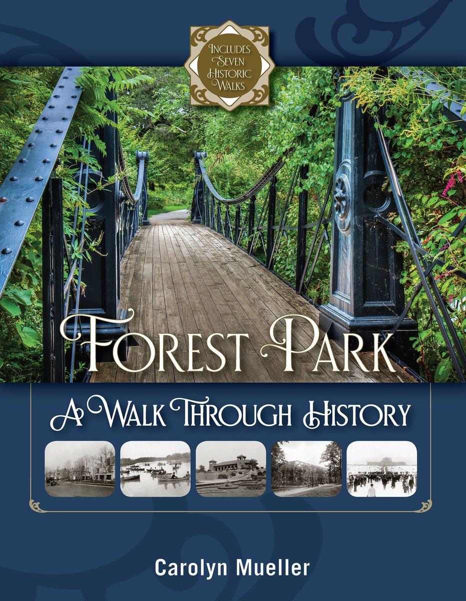 "Enjoy a guided walk through #ForestPark from Carolyn Mueller's latest book ""Forest Park A Walk through History"". Info: https://t.co/ukZmkJ9FZg #explorestlouis https://t.co/U2ljtg4i8k"
