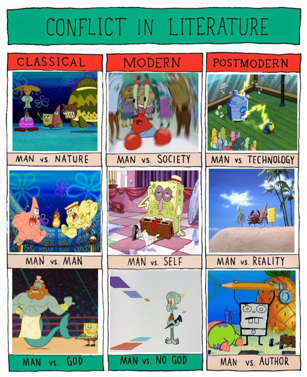 Spongebob really is a literairy masterpiece