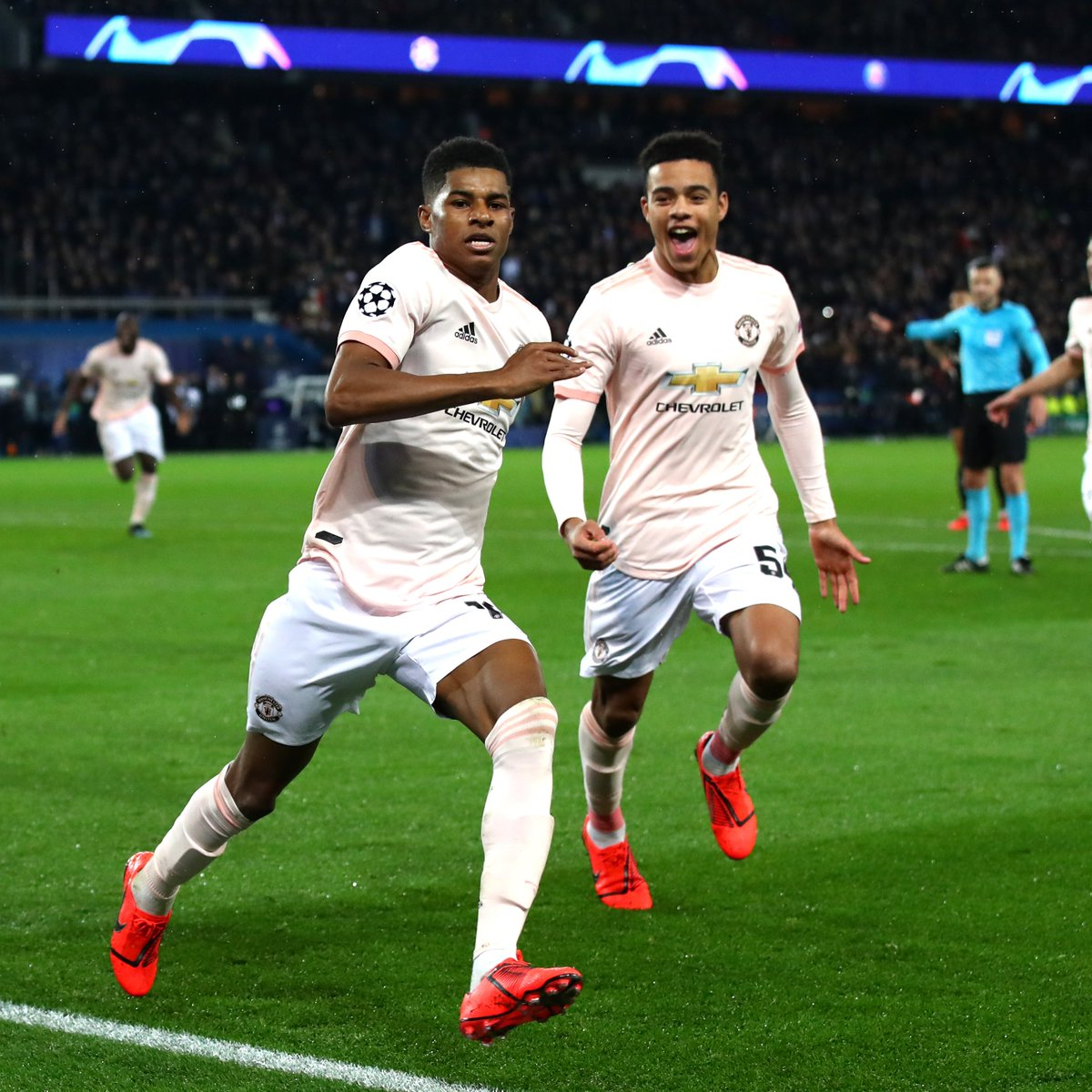 🗓️ 6 March 2019: @MarcusRashford wins it late in Paris. 🗓️ 20 October 2020: @MarcusRashford wins it late in Paris again.  Just what the Doctor ordered 😉  #MUFC #UCL