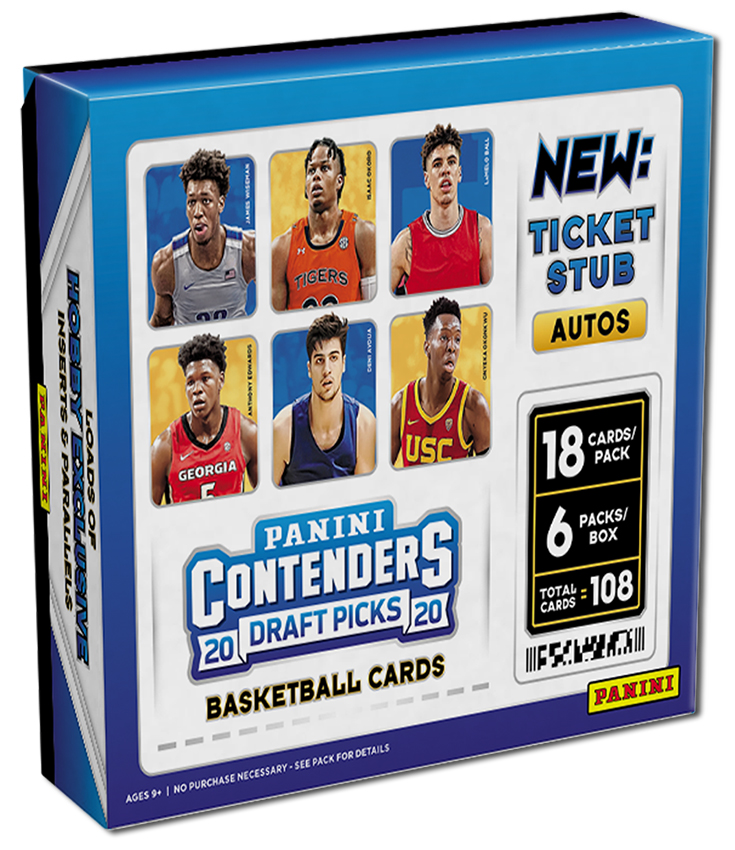 The @PaniniAmerica Quality Control Gallery: 2020 Contenders Draft Picks Basketball.  #WhoDoYouCollect  #NBA | #NBADraft   https://t.co/XePdtndWSN https://t.co/TeHUyFc6L6