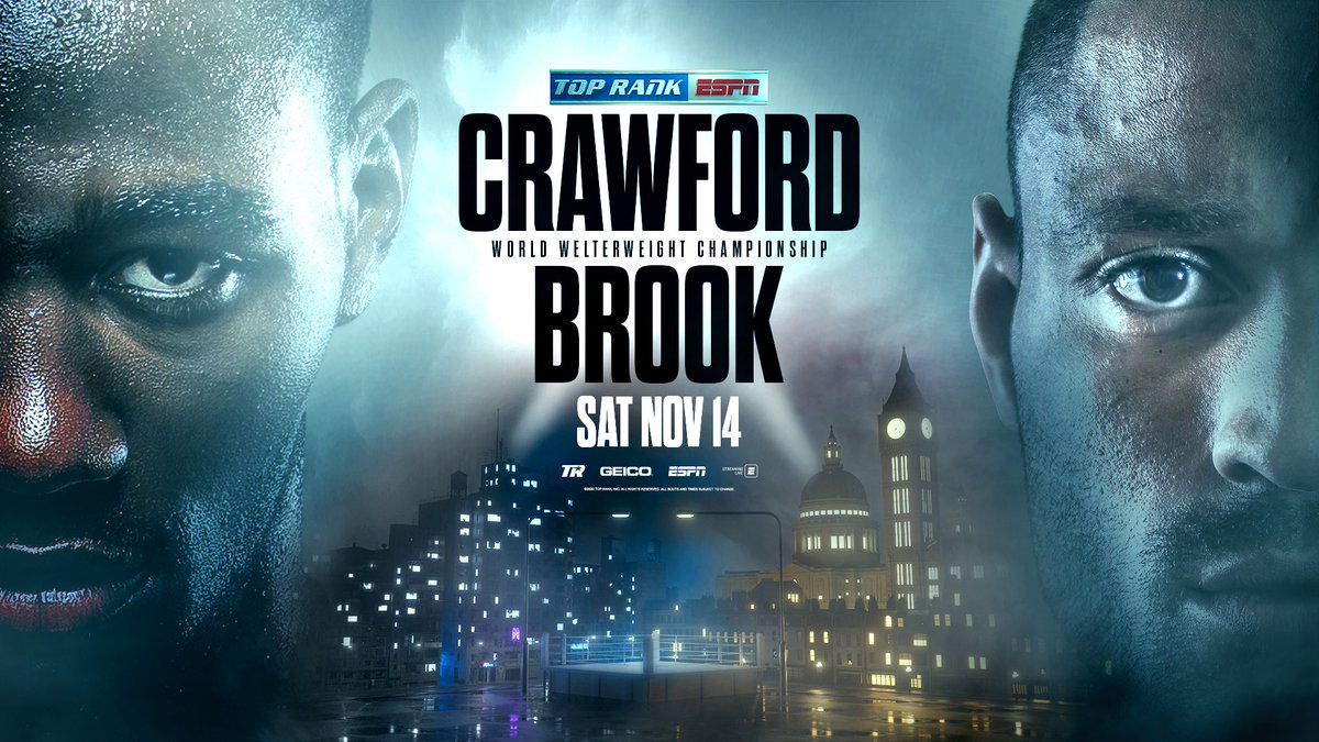 Bud is out to make a statement in the fourth defense of his WBO Welterweight strap against former champ Kell Brook.  Mark the calendars. 🗓🥊 https://t.co/8fKUicZblh