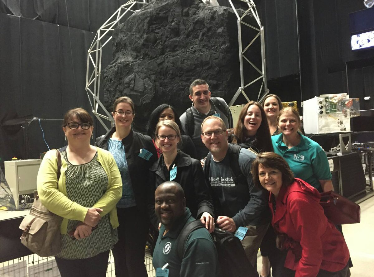 test Twitter Media - We saw  NASA's OSIRIS-REX Mission equipment and they told us all about the Asteroid Bennu. Seems like yesterday we learned of asteroids @EinsteinFellows @dovolkmann @STEMstepup @itsmeSKennedy @CVeresan @CoachStone12 @MattMathO @baltzyworld @JMulhernBiology Teresa & Crystal. https://t.co/1pxpo7tUbW