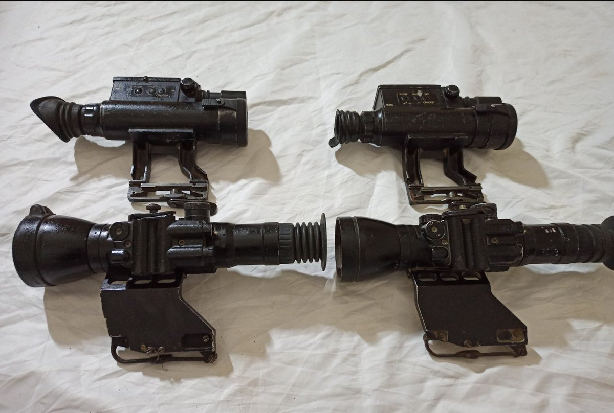 BelOMO DNS-1 Day/Night optic and Dedal 450 NV scope on sale in #Idlib recently https://t.co/N3ng6YxFWl