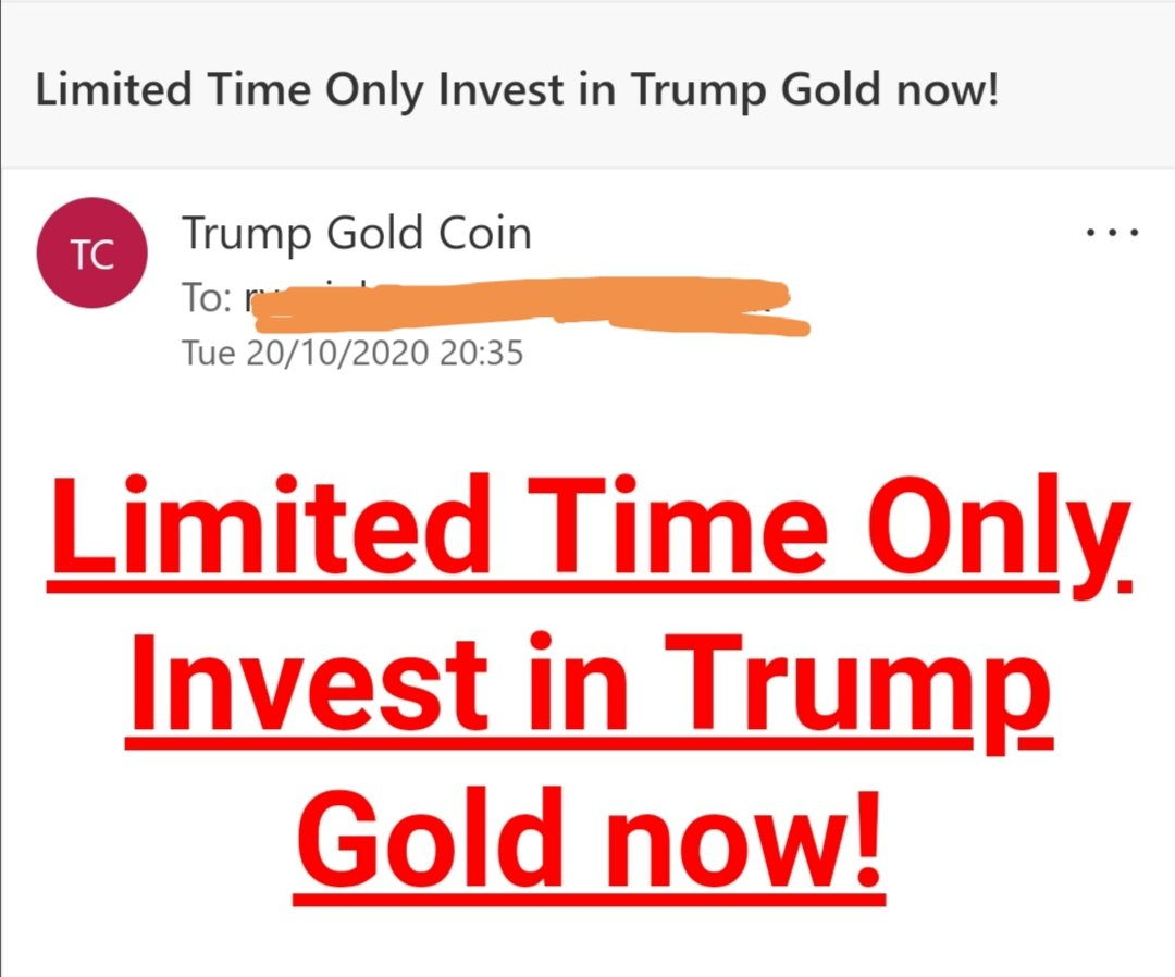 when your scam is *obviously* targeting the thickest members of society