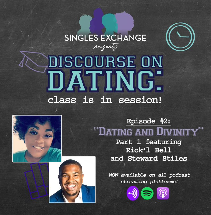 Week 2! #DiscourseOnDating #SinglesEcchange #HeySingles #BlackPodcasts https://t.co/ppa8anXYNt