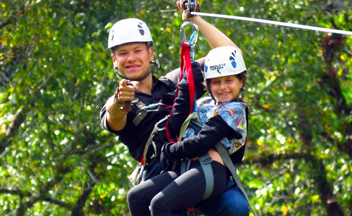 Ziplining in Boquete Panama - A treetop adrenaline rush to savour https://t.co/YSb4ieWHDl  12 ziplines spanning and criss-crossing an area high above the river & main buildings: No breaking advised when ziplining in Boquete Panama #Ziplining #Boquete #Panama https://t.co/wbC1fkCEeW
