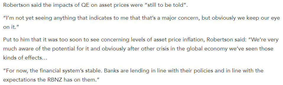 Grant Robertson made these comments in June, when I was urging the Govt to start paying attention to where the money being pumped into the economy via QE was going, and who was going to pay for it.  https://t.co/r66gEzwRue https://t.co/sto6mYyYT4 https://t.co/C1IgAWlXEQ