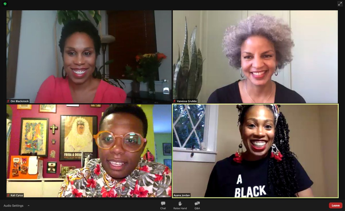Honestly, I don't know a better way to spend the evening than hearing from these incredible docs! #BlackWomeninMedicine #BlackMedTwitter #BlackGirlMagic https://t.co/iQdBwzvp1x https://t.co/rwJNpnoEKU