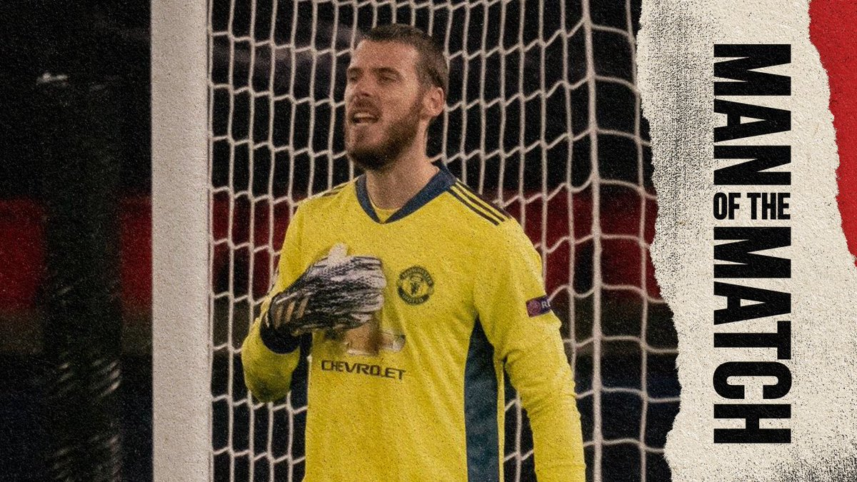 RT @MarcusRashford: @ManUtd @D_DeGea What a performance DDG! 🤩
