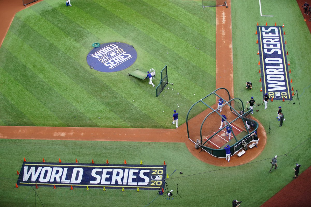 Not what we had in mind in hosting a #WorldSeries, but hey, 2020.