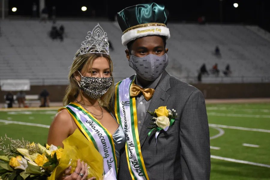 Congratulations to our 2020 Homecoming King and Queen: Brantley Evans and Bryson Burchell! https://t.co/0omfsfeuKY