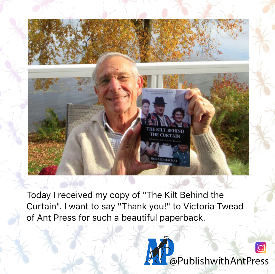 Exciting! So pleased for you, Ron! It was a lovely project and you were fabulous to work with, thank you! #newrelease #welovememoirs #antpress https://t.co/KjKXnuZyiB