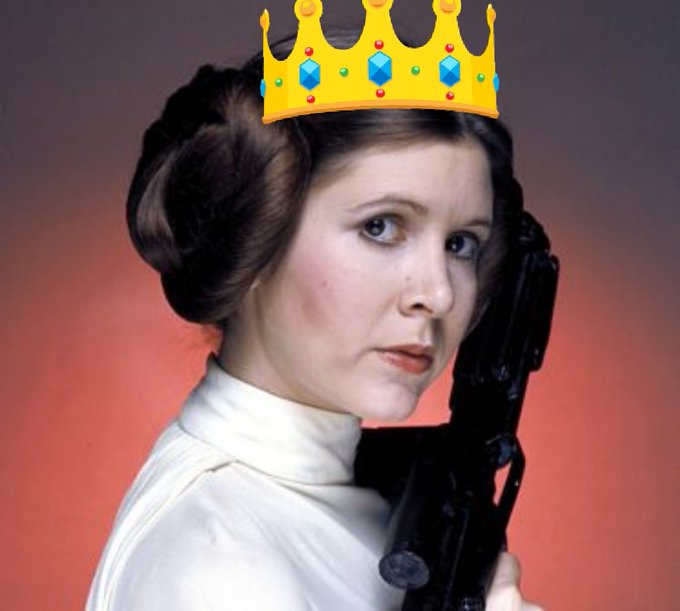 Happy birthday Carrie Fisher! The force will be with you, always