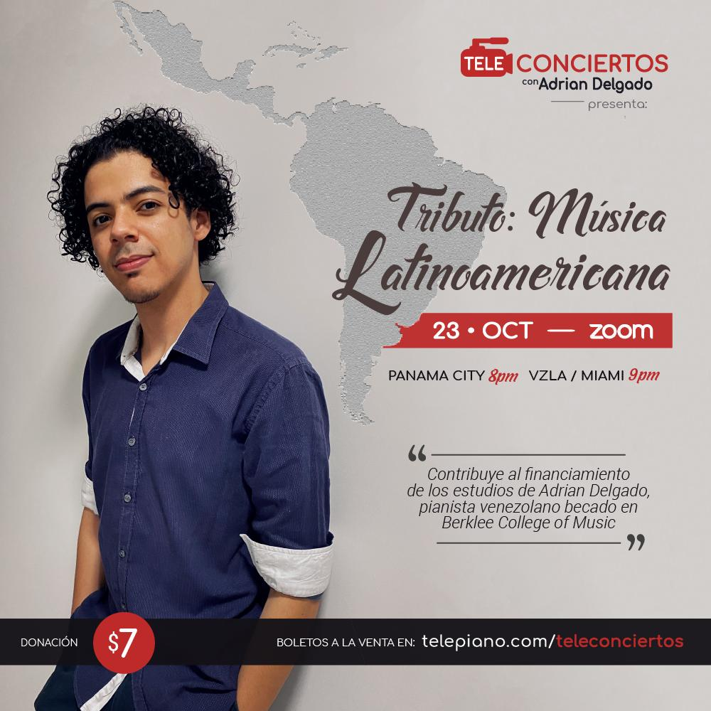 https://t.co/5u3Z8EWDjH *Tributo - Música Latinoamericana* con Adrian Delgado, viernes 23 de octubre. Maravillosa experiencia musical! Les invito a disfrutarla, y también a compartirla 🎹🎶 Gracias!❤️ https://t.co/WMLZbJhD9H