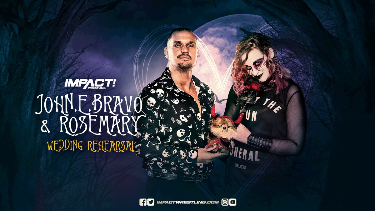 Rosemary & John E. Bravo Set To Get Married Next Week On Impact Wrestling