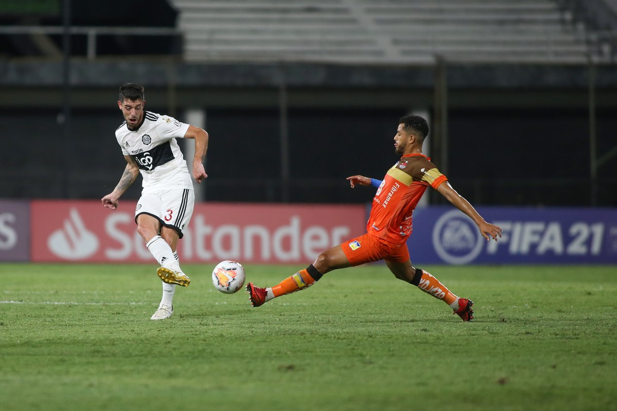 ⏱️ ¡Comenzó el segundo tiempo!  ⚽️ @elClubOlimpia 0-0 @DelfinSC  🏆 Fecha 6 del Grupo G de la #Libertadores. https://t.co/u3BcXO71Po