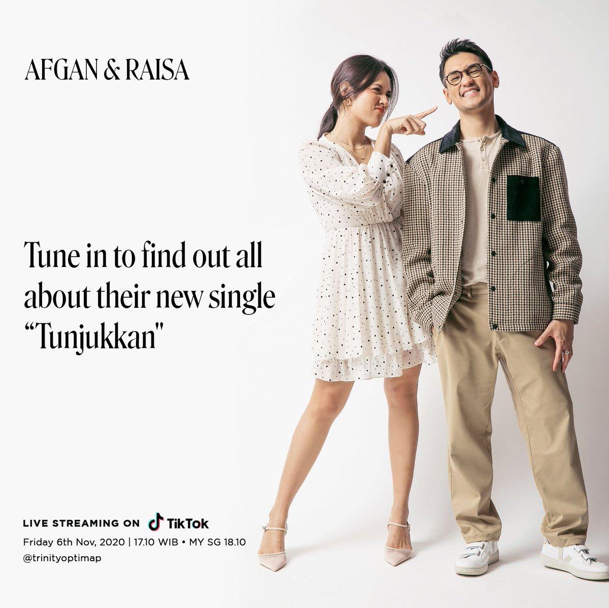 Tune in to find out about our new single 'Tunjukkan' @raisa6690 only on @trinityoptimap TikTok account  Follow:   #AfganRaisaTunjukkan