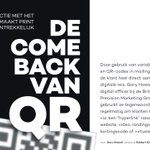 "Image for the Tweet beginning: ""The QR made a comeback"