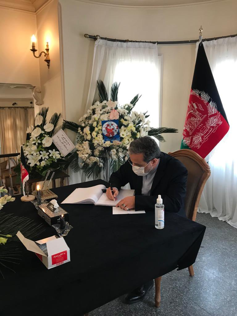 Today I recorded my sympathy & condolences in the Afghanistan Embassy following the barbaric attack on Kabul University which claimeed lives of 20+ innocent students. Takfiri terrorism has only produced bloodshed & insecurity everywhere in the region & beyond. #جان_پدر_کجاستی