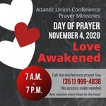 Image for the Tweet beginning: The Atlantic Union Conference Prayer