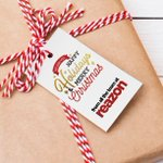 Image for the Tweet beginning: Personalised #Christmas #gifttags are the