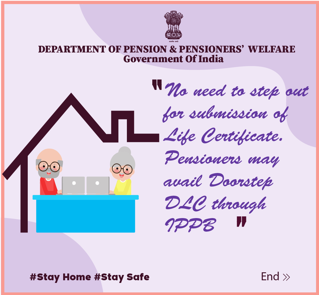 In order to submit Life Certificate digitally, pl ensure that your Pension account is linked with Aadhaar Number.#DLC #JeevanPramaan  #unitetofightcorona @PIBPersMin @DOPPW_India @DrJitendraSingh