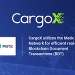 Image for the Tweet beginning: The CargoX Platform for #Blockchain