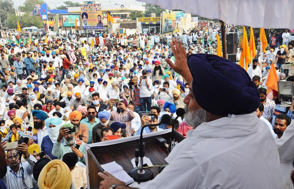 SAD against Sadhu Singh Dharamsot: Here's what Shiromani Akali Dal President Sukhbir Singh Badal said on SC Scholarship scam. SAD in Punjab.