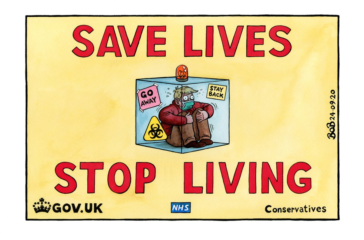 Save lives, stop living