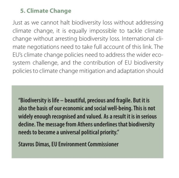 """16/ Equally, the 2050 objective no longer refers to achieving an """"environmentally sustainable economy"""". This should be reinstated. More generally, the Bill should be amended to ensure that actions to address climate breakdown and biodiversity loss are *fully complementary*"""