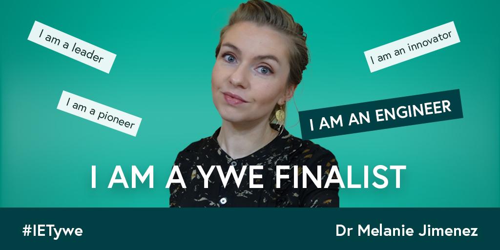 IET engineering finalist Melanie