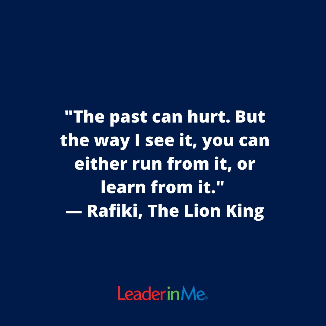 We always knew Rafiki was one of our favorites. #leaderinme #lim #eduation #motivationalmonday