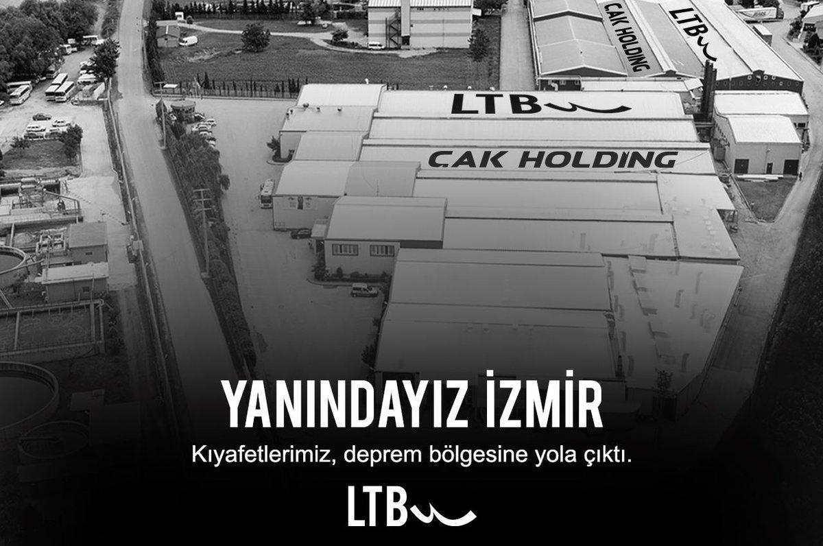 AFAD aracılığıyla kıyafetlerimizi depremde zarar gören İzmir bölgesine ulaştırıyoruz. Bu tür felaketlerin bir daha yaşanmamasını temenni ediyor, hayatını kaybeden vatandaşlarımıza Allah'tan rahmet, yakınlarına sabır ve başsağlığı, yaralılarımıza ise acil şifalar diliyoruz#İzmir https://t.co/ArUrxsgwws