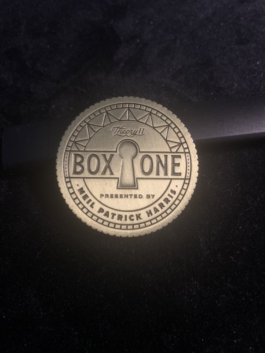 That was awesome!!!! Great job!!! @NPH @theary11 #theary11 #boxone