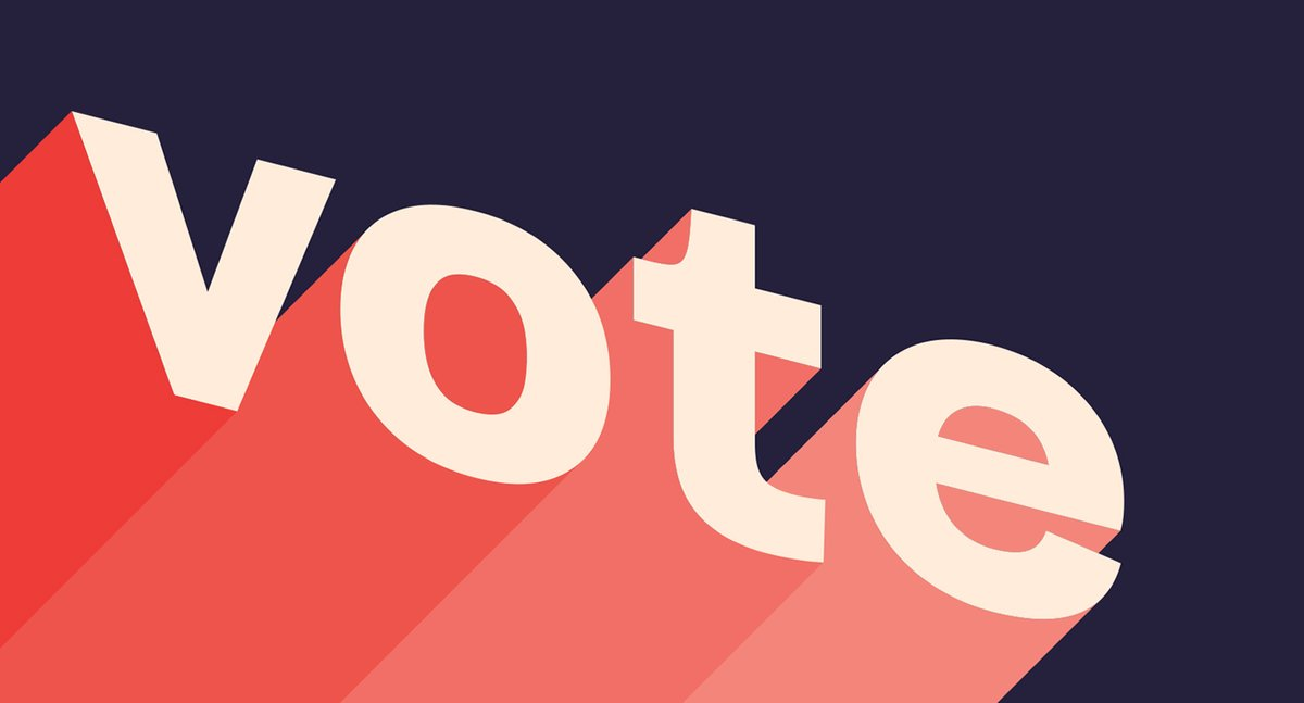 ONE DAY until Election Day! 🗳️⁣⁣⁣⁣  As of this morning, more than 95 MILLION Americans have voted early - either by post or in person. If you haven't already voted, make sure you've made your voting plan and #VOTE!⁣⁣⁣⁣⁣⁣⁣⁣⁣⁣  Image: @NiceGreg for @AIGAdesign