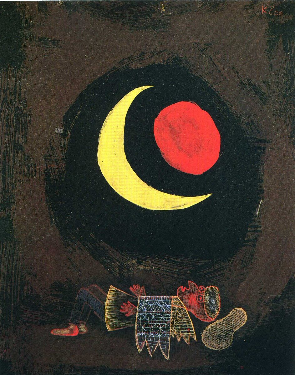 Strong Dream by Paul Klee, 1929. Dimensions: 21 x 26 cm. Medium: Watercolor on paper. #LOONAonBillboard200 #LOONA #이달의소녀 @loonatheworld