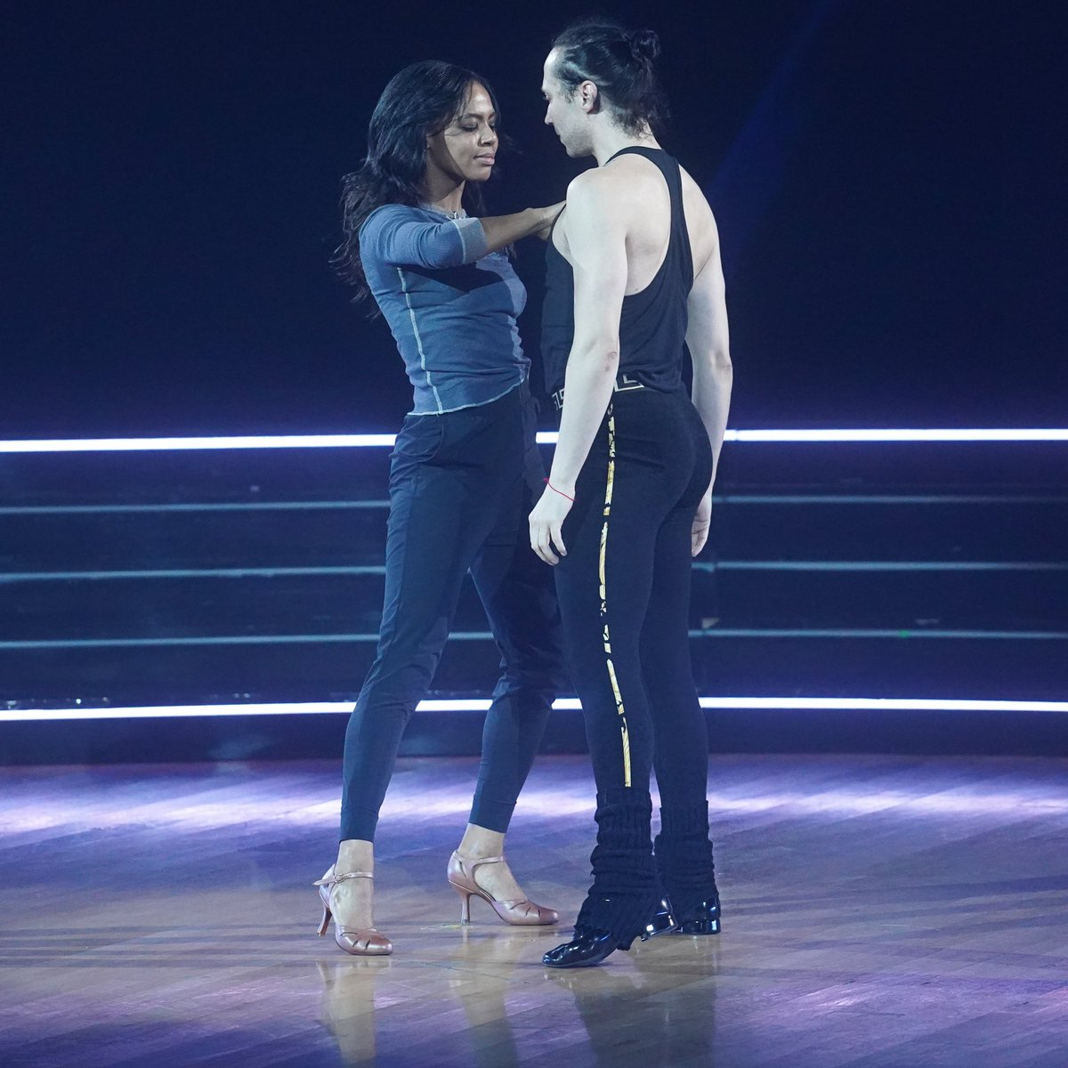 Our foxtrot is very special to us because it's all about our friendship. I couldn't have asked for a more glorious partner or friend to share this journey with than @BrittBStewart. I hope you all enjoy it and will consider us for your votes! @dancingabc #dwts #teambrijo #wonder
