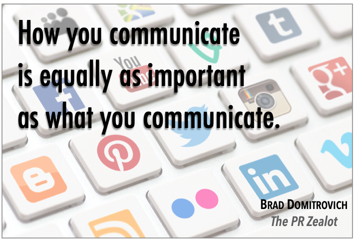 How are you communicating today? #PR #SchoolPR