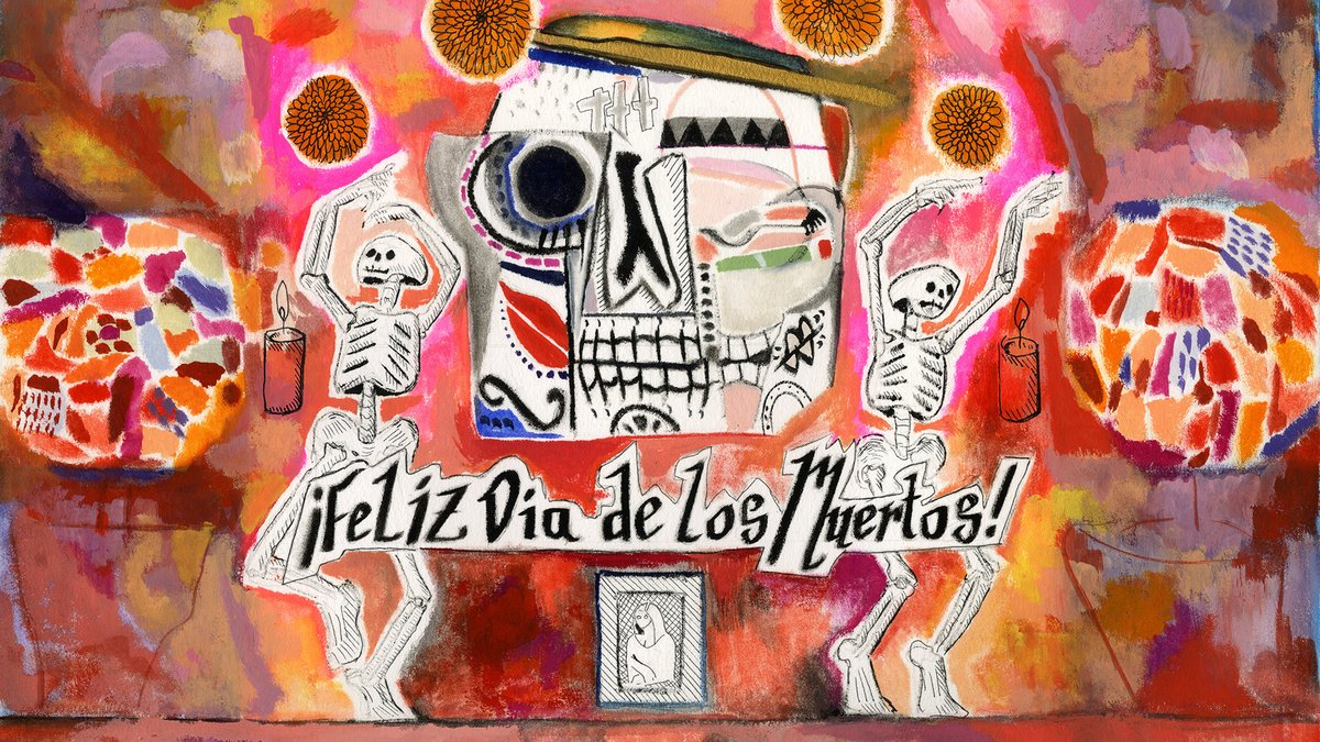 Today is #DiaDeMuertos, the Mexican holiday that honors our deceased loved ones with symbols like calaveras 💀 (skulls often made from sugar) and maravillas 🌼(marigold flowers, to help guide the loved ones' spirits). Share this post to celebrate the life of a lost loved one.