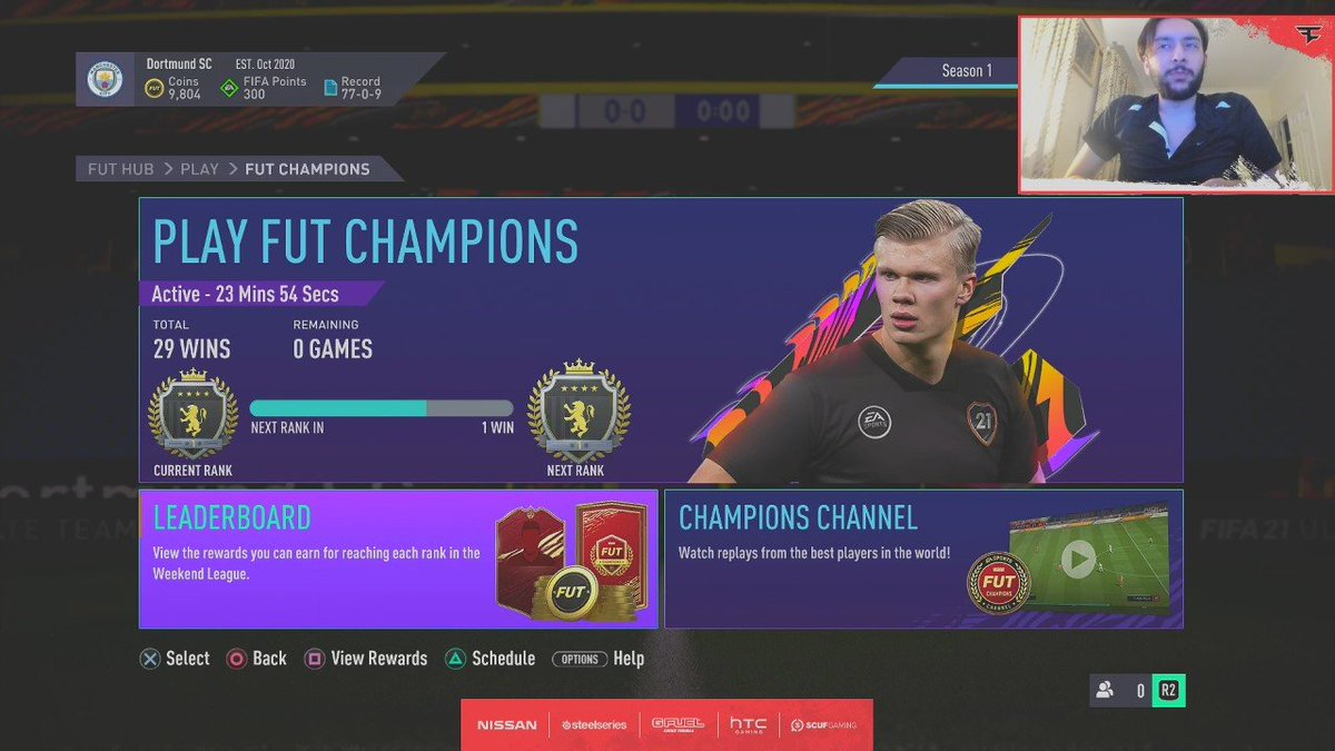 Tass - 29-1 on PS with a 500k team 👍  Also, FIFA 21 is unexplainably awful
