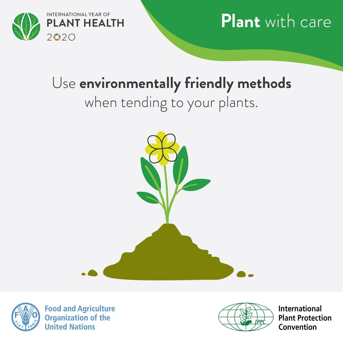 Do you have a garden? Be sure to take care of your plants and the environment by using environmentally friendly methods.   Here is more on what you can do to protect #PlantHealth:    #IYPH2020