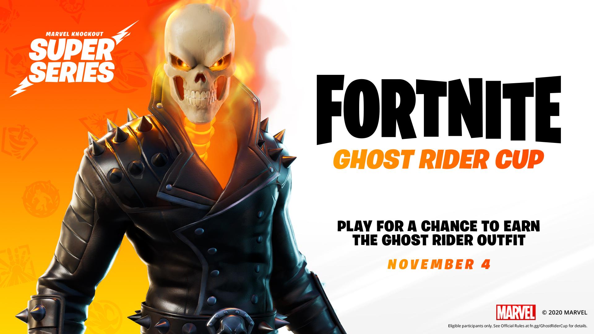 ghost rider cup skin fortnite season 4